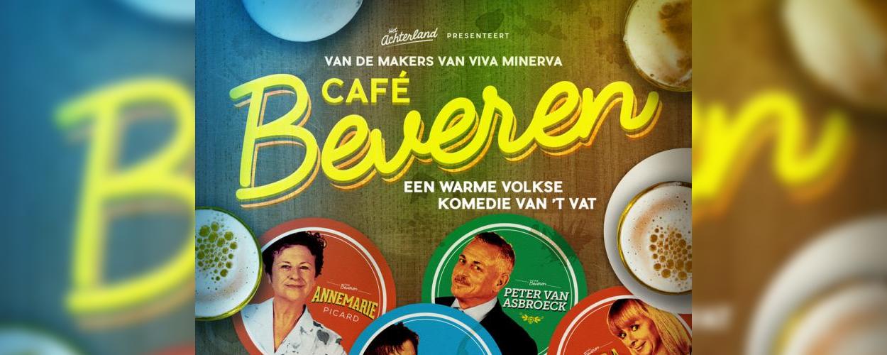 Cast zomerkomedie Café Beveren maakt kennis met gelijknamig café