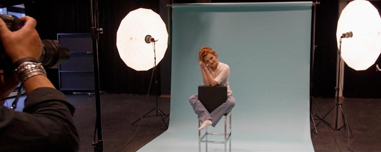 Achter de schermen bij fotoshoot On Your Feet!