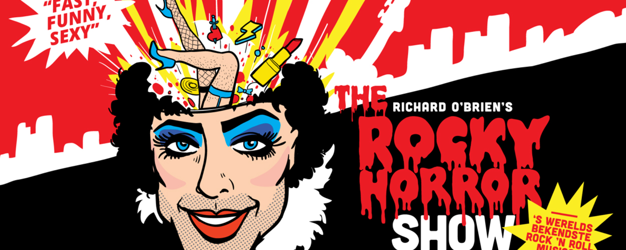 The Rocky Horror Show in januari te zien in de Lotto Arena in Antwerpen