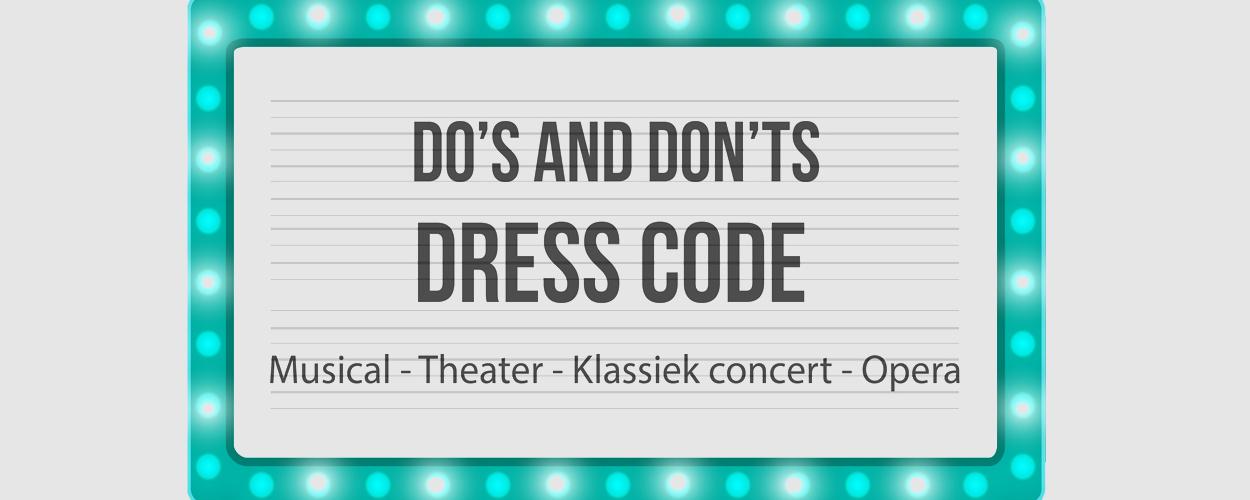 Infographic: Wat draag je naar een musical, theater, klassiek concert of opera?