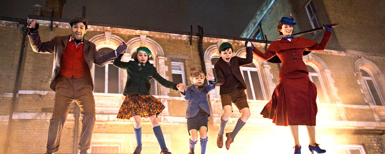 Nieuwe foto's van Mary Poppins Returns
