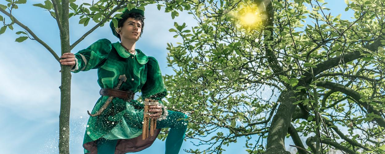 JONG! brengt familiemusical Peter Pan naar het Roosendaals theater