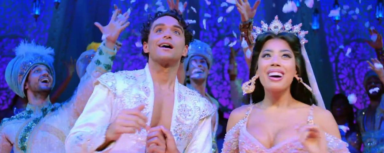 Nieuwe trailer voor Aladdin op West End