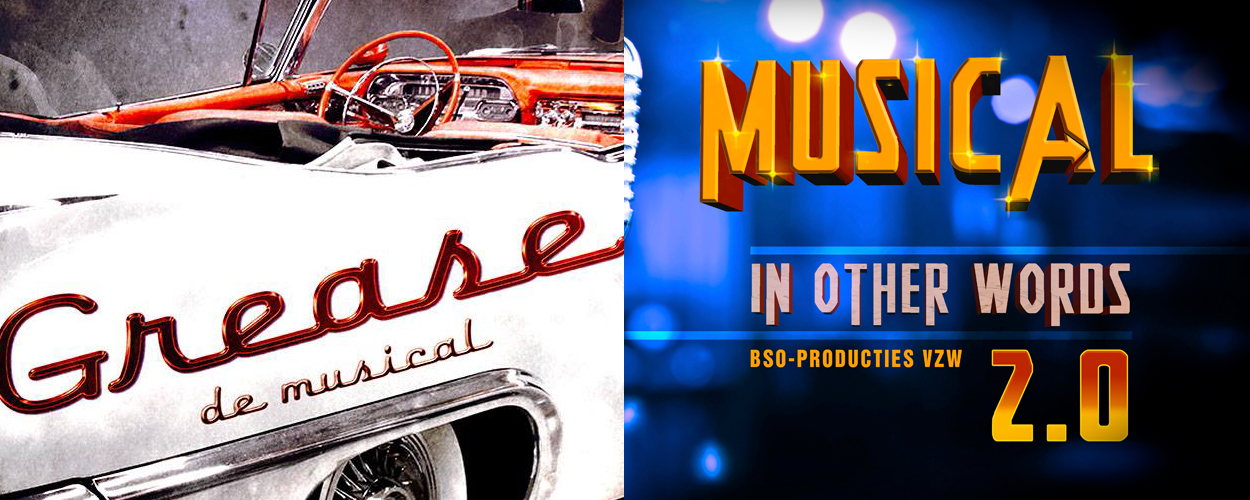 Audities: Grease en Musical in other words 2 van BSO-producties