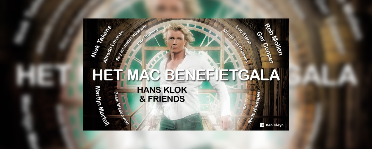 Magic Art Center benefietgala Hans Klok and Friends