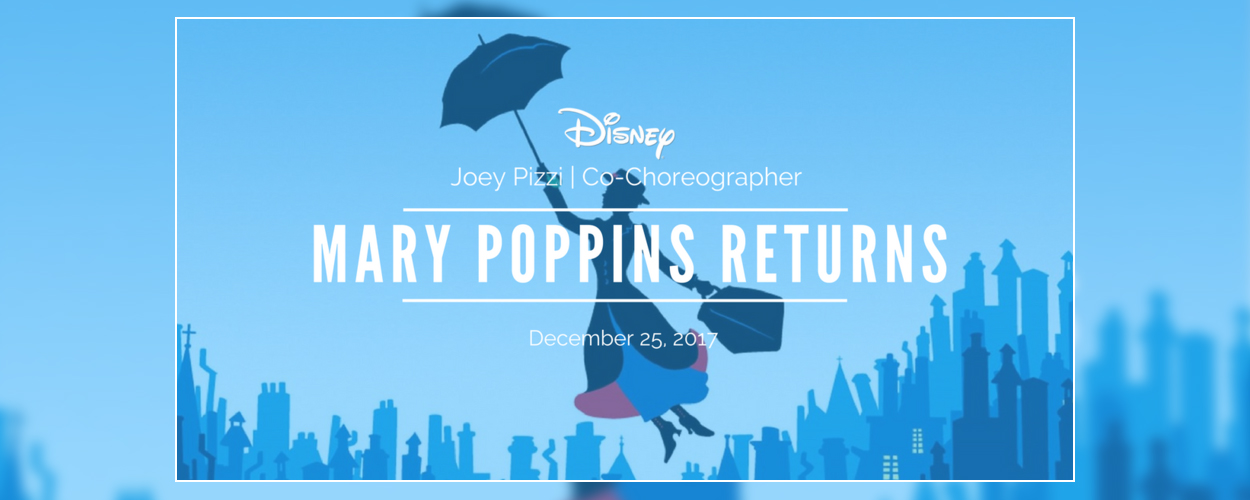 Eerste motion poster Mary Poppins Returns