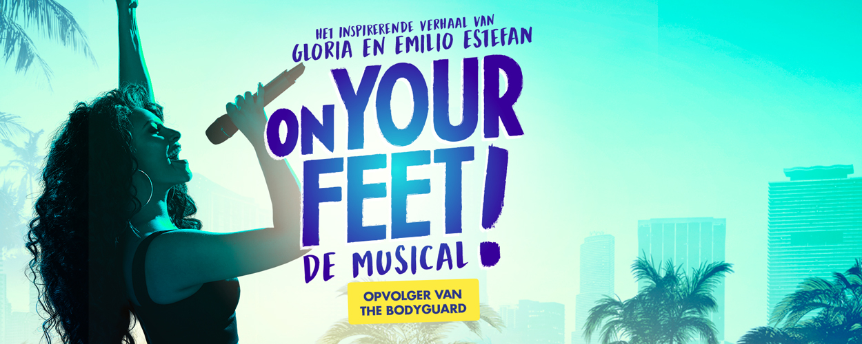 Nieuw artwork voor On Your Feet!
