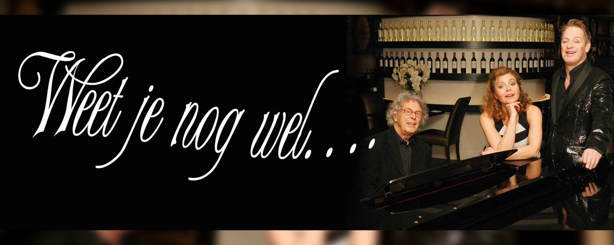 Maaike Widdershoven, Tony Neef en Ruud Bos brengen de voorstelling 'Weet je nog wel…'