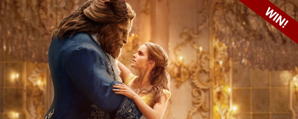 Win de DVD van Beauty and the Beast