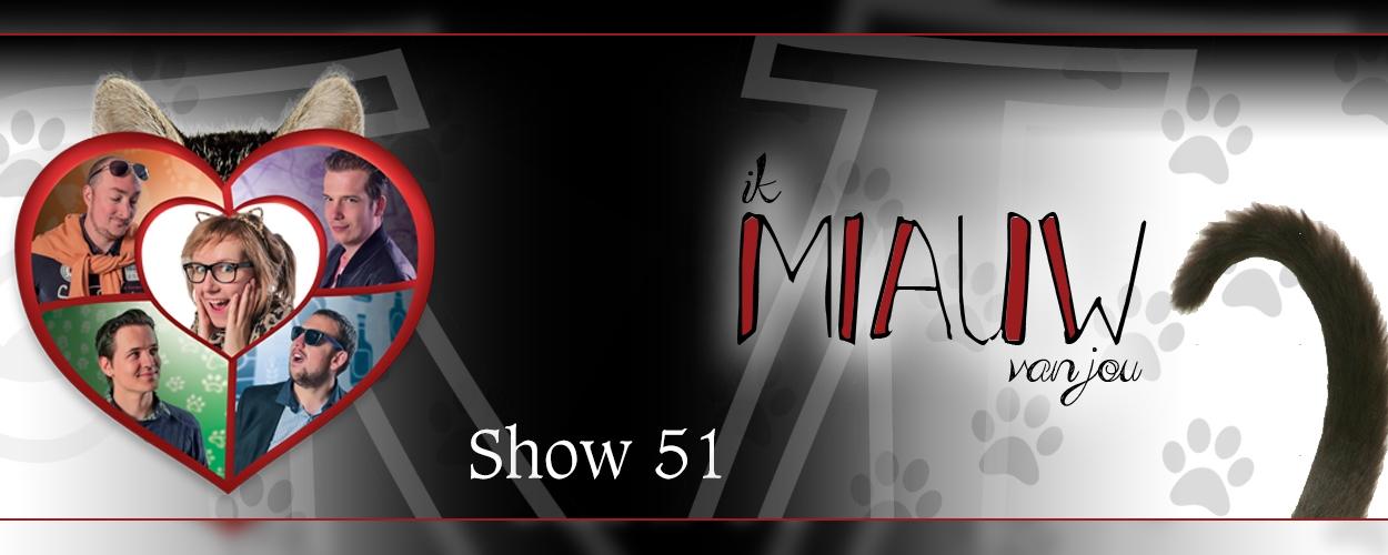 Theatergroep Max Mini speelt volgende maand Ik Miauw van Jou