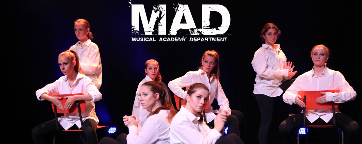 Dutch Junior Musical Academy lanceert MAD, voor jeugd en jongvolwassen