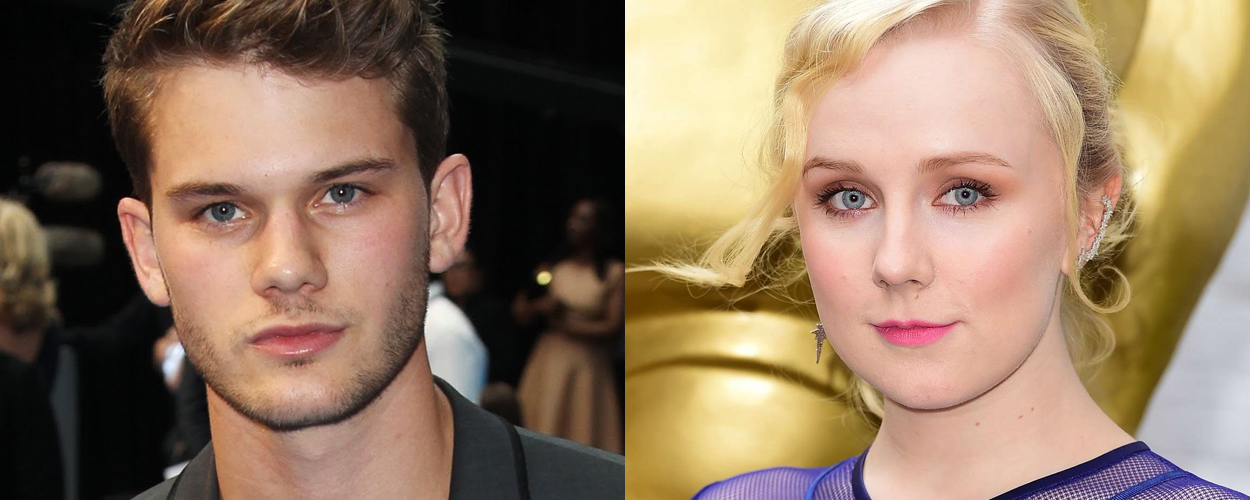 Jeremy Irvine en Alexa Davies in Mamma Mia: Here we go again