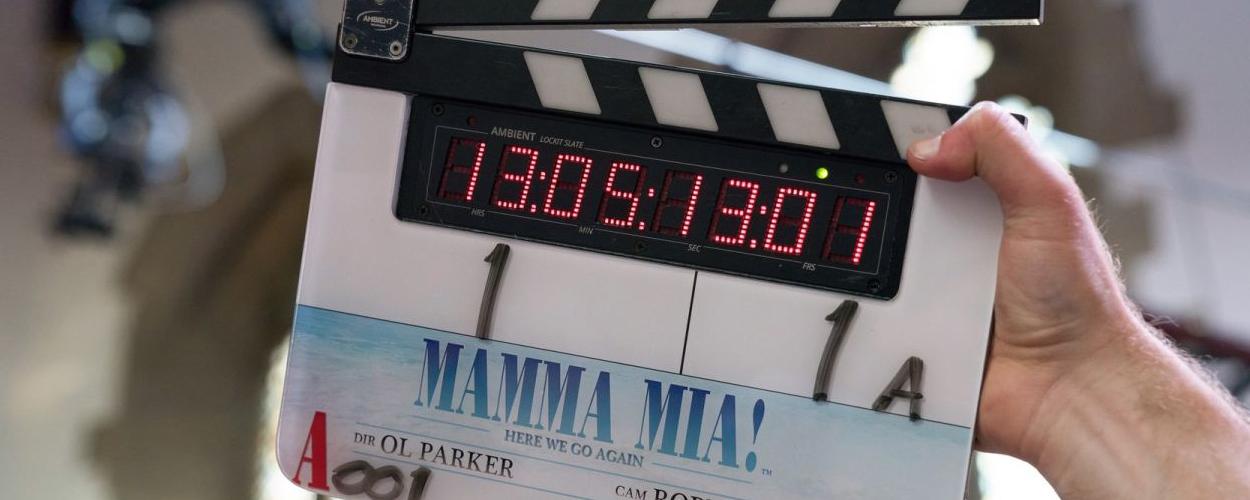Opnames Mamma Mia: Here we go again begonnen