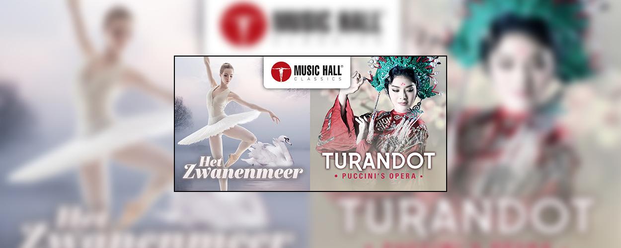 Music Hall opent seizoen met klassieke meesterwerken Het Zwanenmeer en Turandot