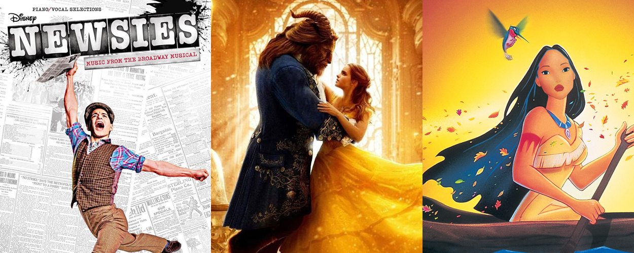 Newsies, Beauty and the Beast en Pocahontas volgende maand op Netflix