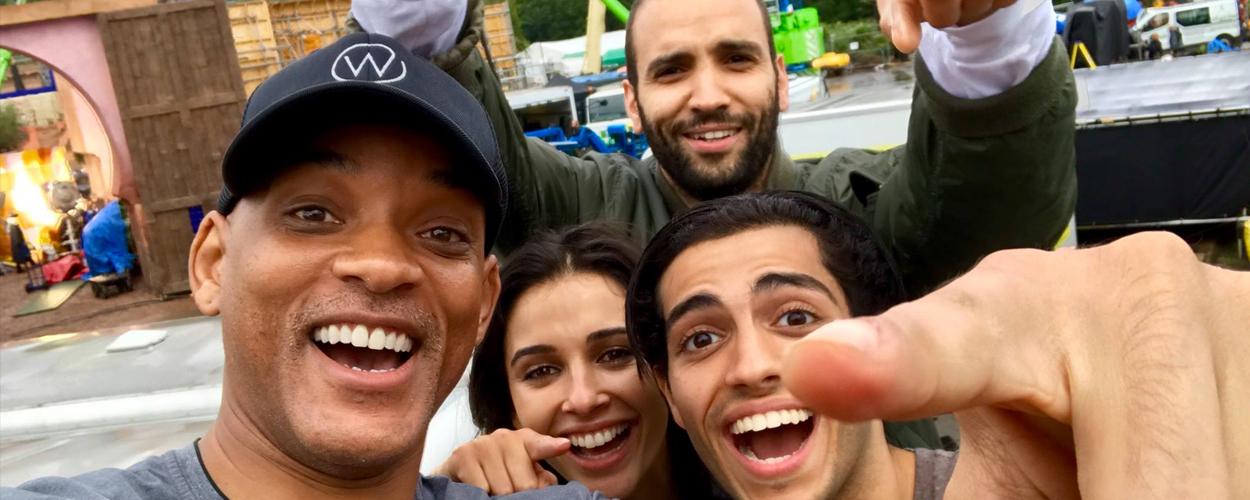 Opnames voor Aladdin volledig afgerond