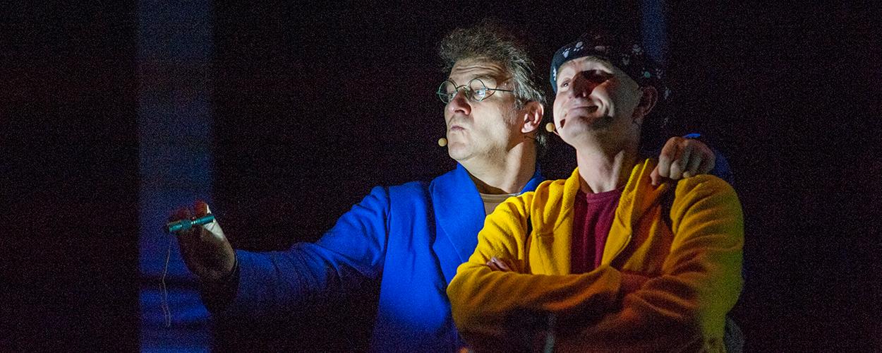Kinderduo Ernst en Bobbie vanaf 1 oktober wekelijks te zien in de Nederlandse theaters