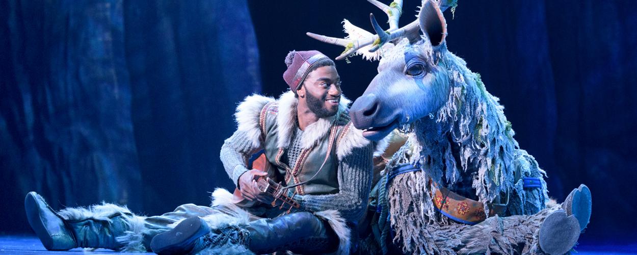 Eerste foto's van Frozen the Musical