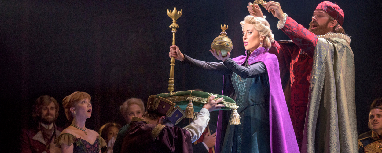 Slotapplaus van première Frozen the Musical