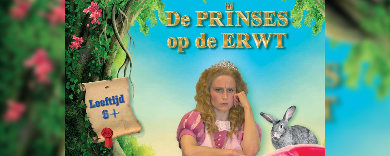 Bert Visscher verleent stem aan familiemusical Prinses op de Erwt