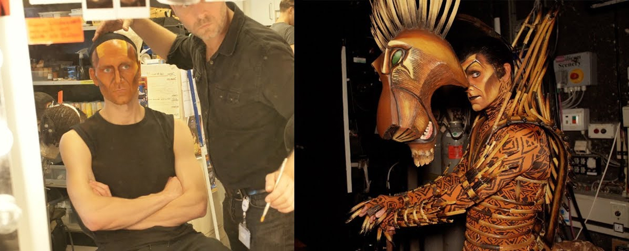 Achter de schermen: Jorrit Ruijs als Scar in The Lion King