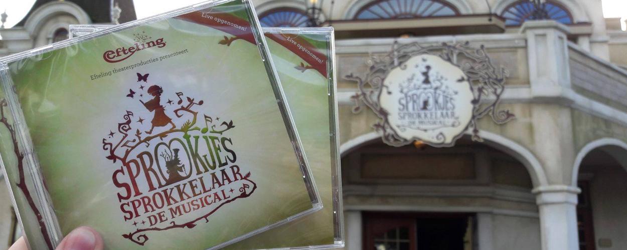 Castalbum Sprookjessprokkelaar de musical nu te koop in Efteling Theater