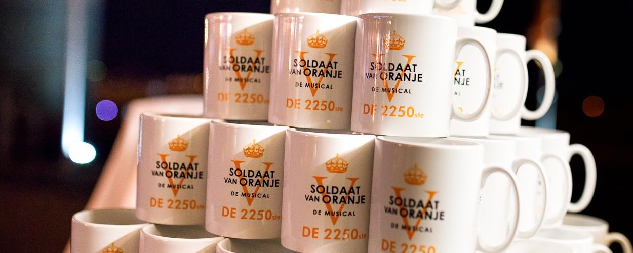 2.250ste voorstelling van Soldaat van Oranje