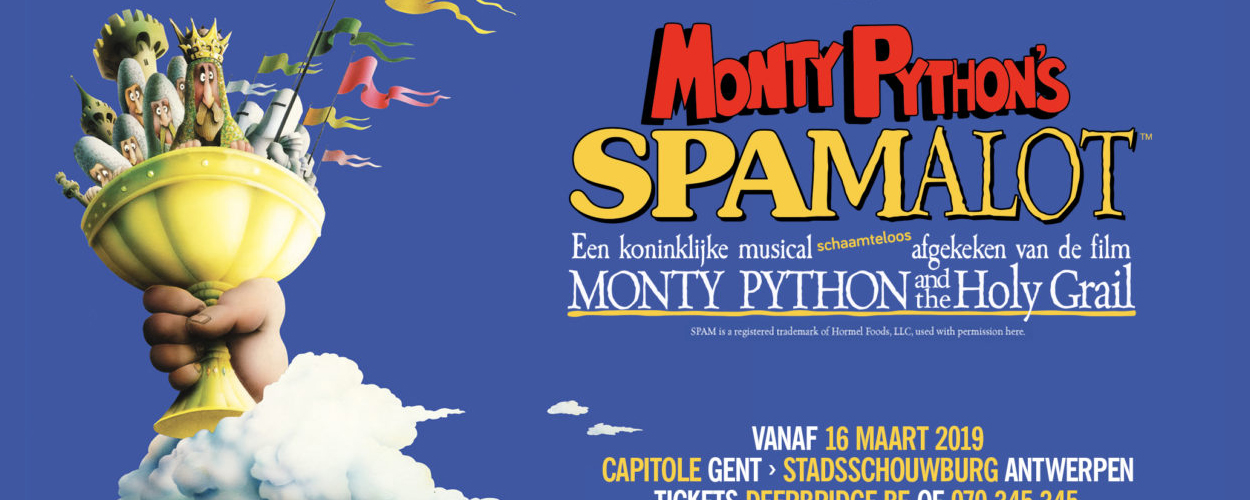 Audities: Spamalot zoekt talent voor ensemble