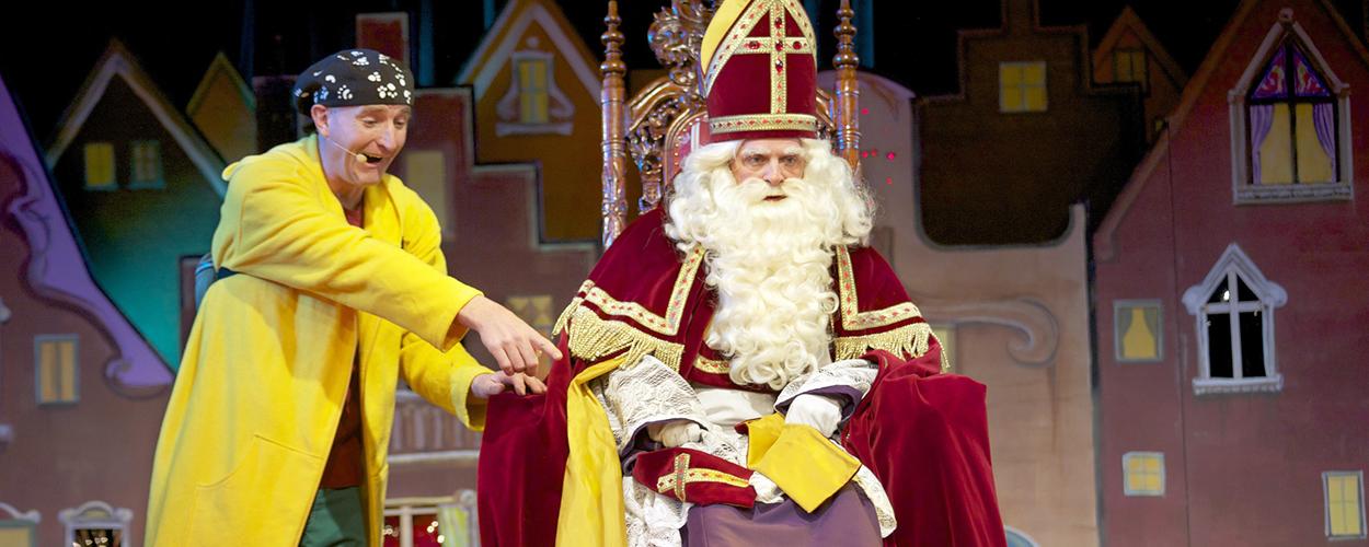 Ernst en Bobbie vanaf 19 november met Sinterklaasshow te zien in de theaters