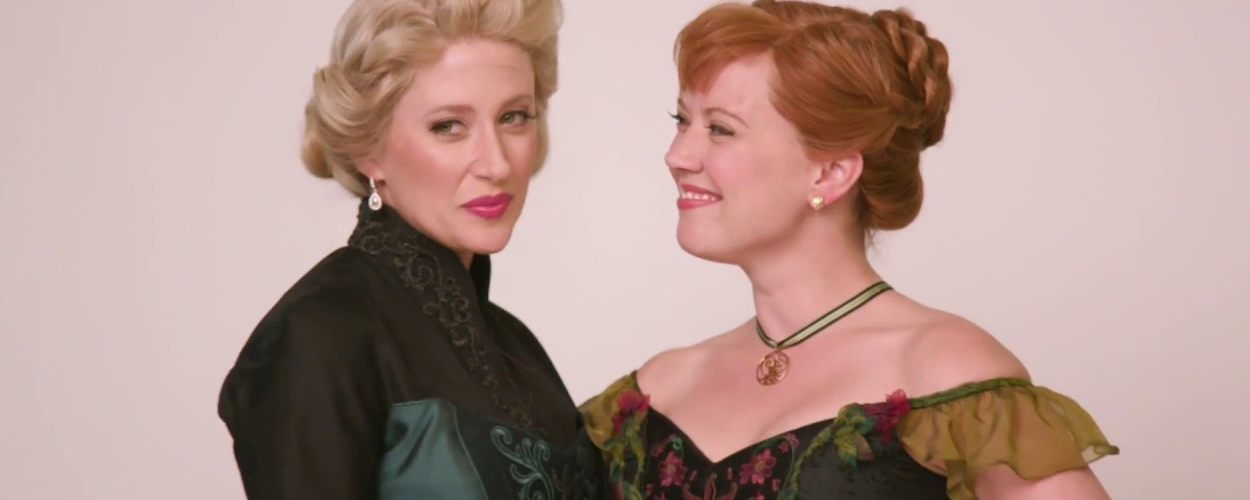 For Good uit Wicked gezongen door Caissie Levy and Patti Murin uit Frozen