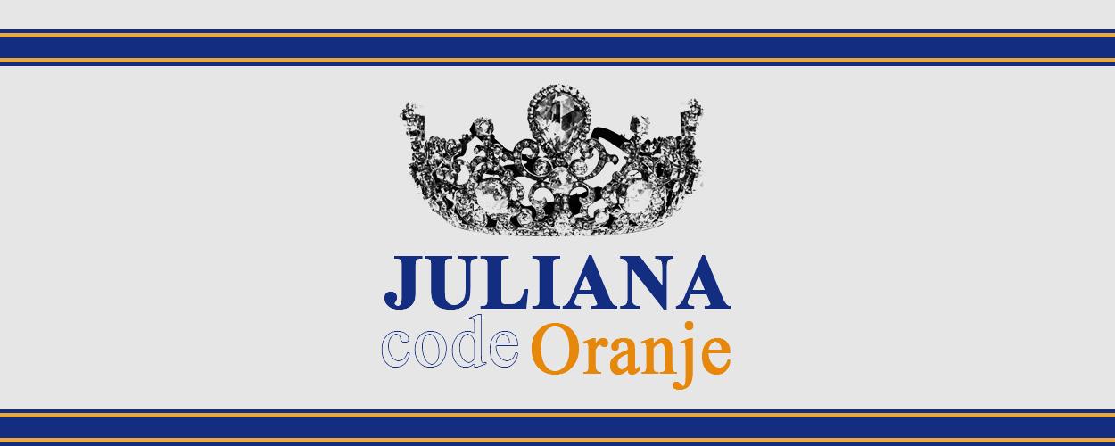 JULIANA – Code Oranje