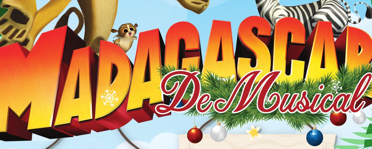Greg en Baud Productions presenteert Madagascar in de kerstvakantie