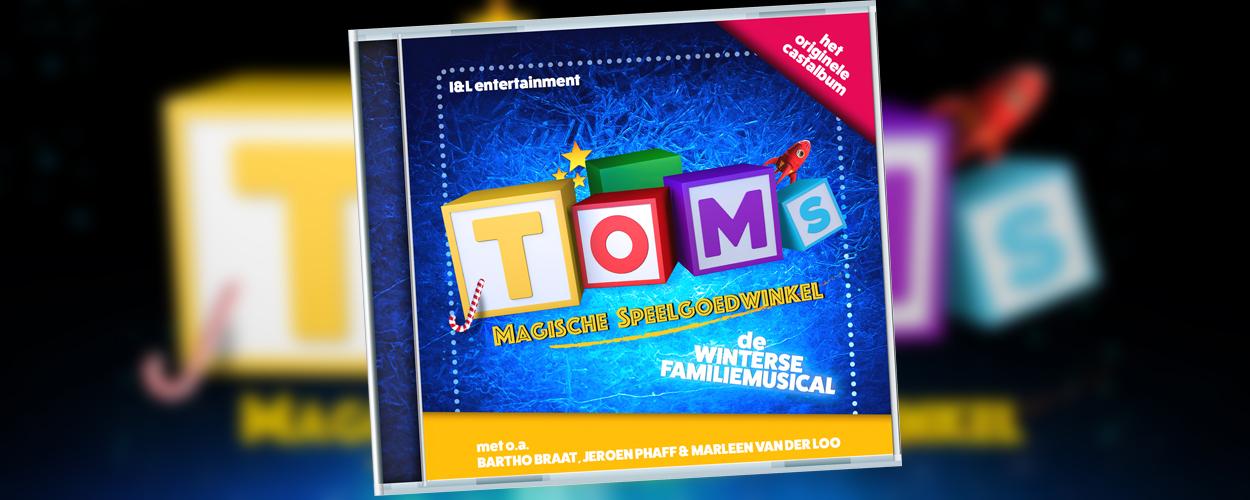 Castalbum van Toms Magische Speelgoedwinkel uitgebracht