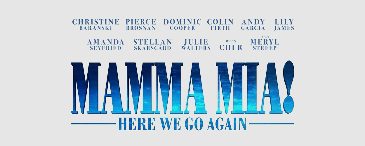 Speciale singalong screenings Mamma Mia! Here we go again