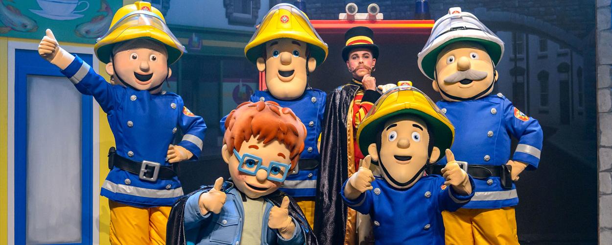 Repetities in volle gang voor reprise Brandweerman Sam Live!