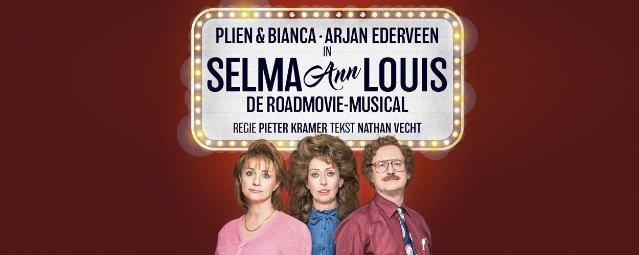 Plien en Bianca en Arjan Ederveen voor het eerst samen op toneel