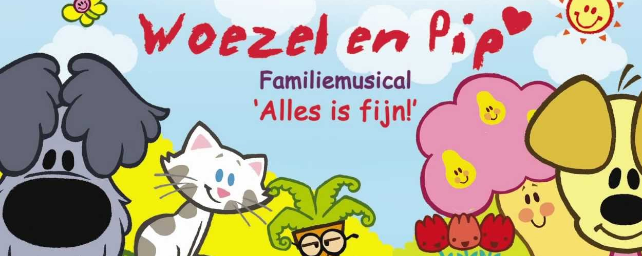 Woezel & Pip – Alles is Fijn!