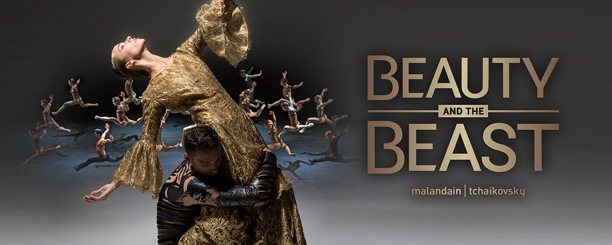 Music Hall brengt donker en sensueel ballet Beauty and the Beast