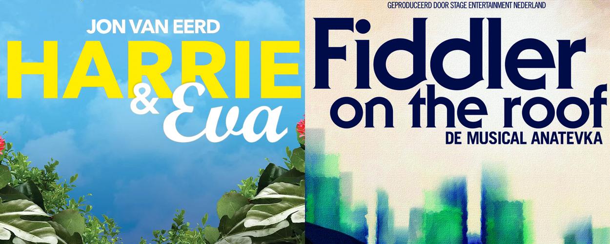 Harrie & Eva en Fiddler on the Roof voor blinden en slechtzienden in Apeldoorn