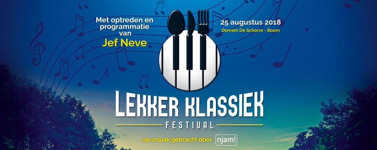 Studio 100 en De Schorre presenteren 2de editie Lekker Klassiek
