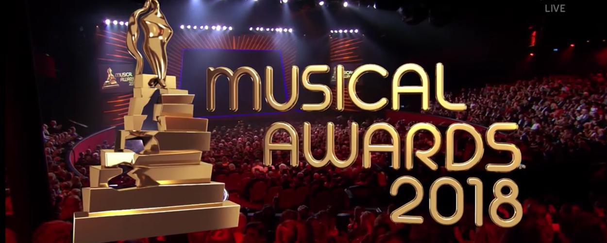 Meer dan 1,2 miljoen kijkers voor Musical Awards 2018