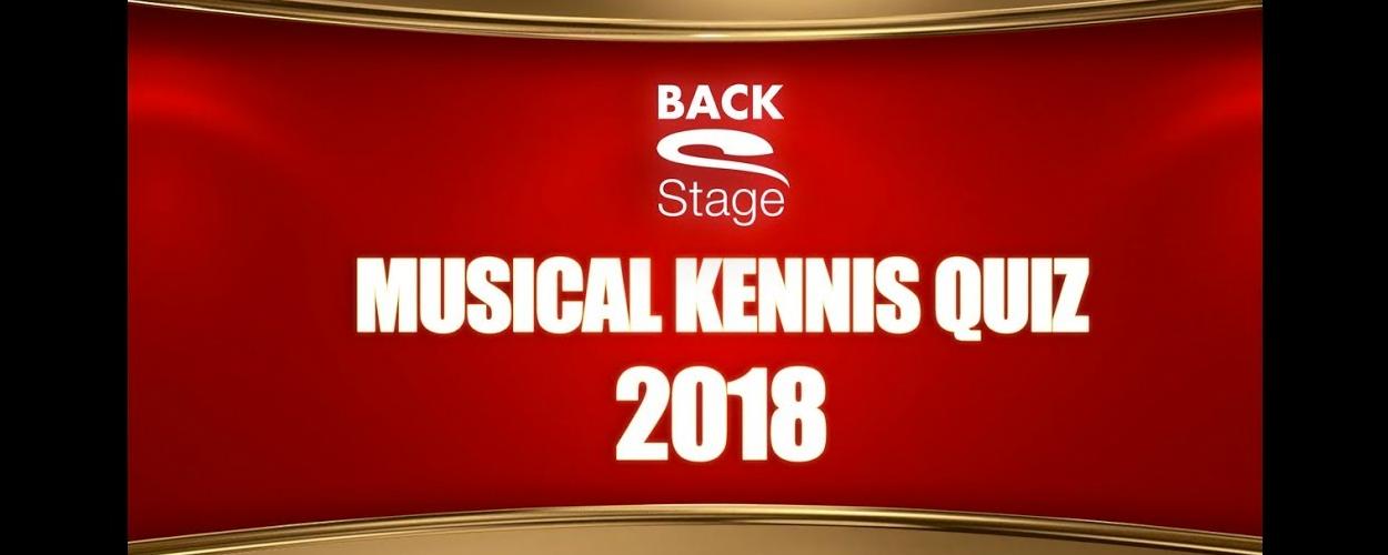 Musical Kennis Quiz 2018 op het Musical Awards Gala