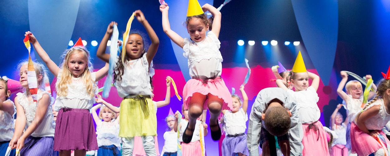 Proeflessen Telekids Musicalschool op veertig locaties