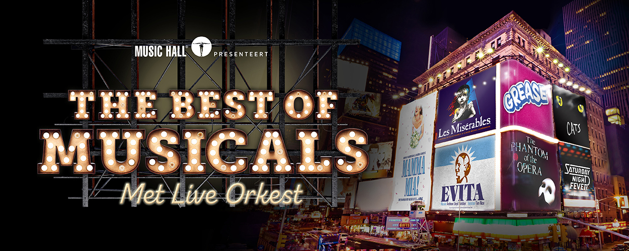 Music Hall presenteert The Best of Musicals