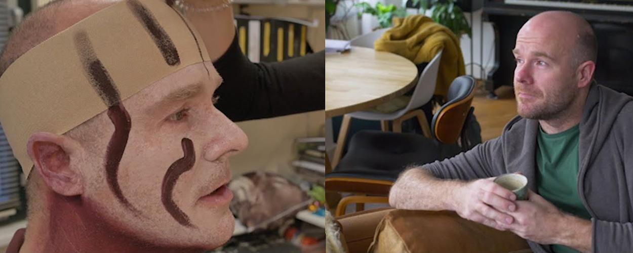 Achter de schermen: Zjon Smaal als Pumbaa in The Lion King
