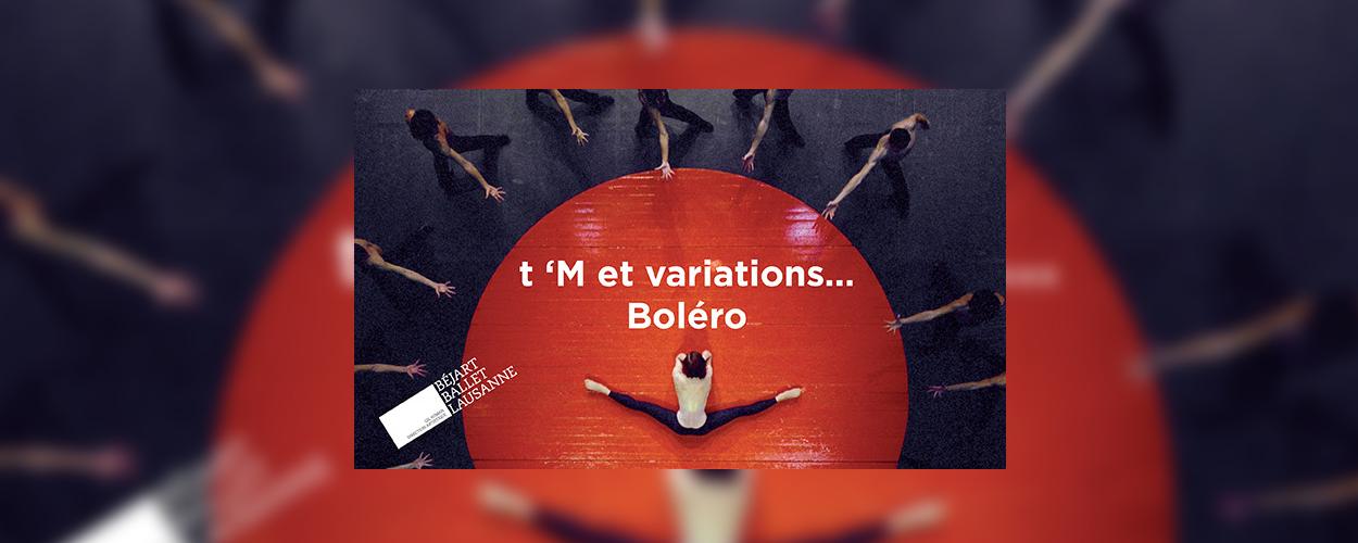 Music Hall en Béjart Ballet Lausanne eren Maurice Béjart
