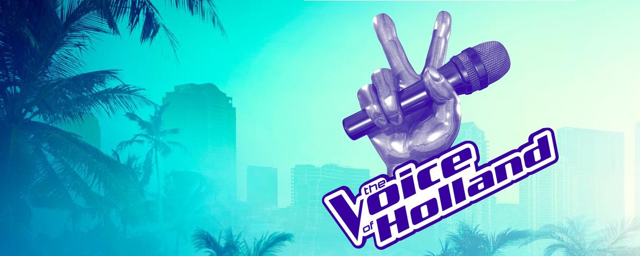 Terugkijken: Vajèn van den Bosch op bezoek bij The Voice of Holland