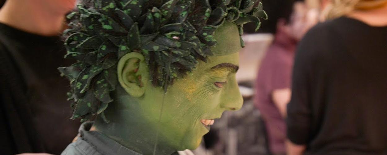 Achter de schermen: Steve Beirnaert als Timon in The Lion King