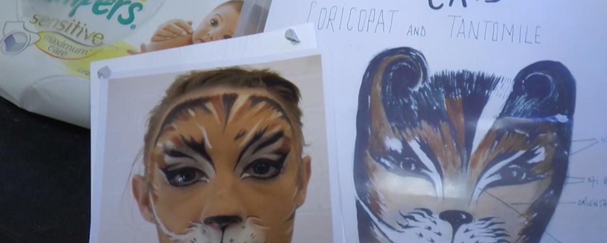 Achter de schermen bij Cats #11: De make-up van Tantomile