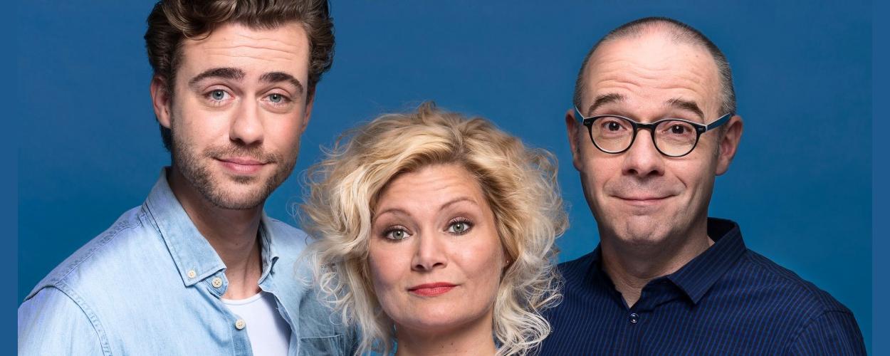 Comedy 'Laten we eerlijk zijn' komend seizoen te zien in het theater